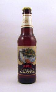 Saranac's Adirondack Lager