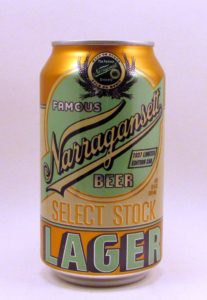 Narragansett's 1937 Throwback can