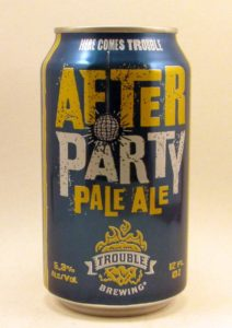 Trouble's After Party Pale Ale