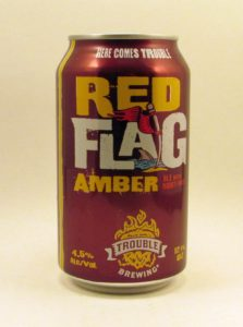 Trouble's RedFlag Amber Ale