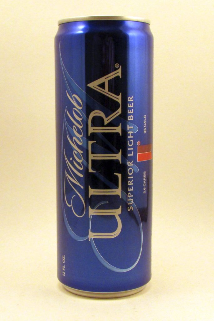 Michelob Ultra - blue can