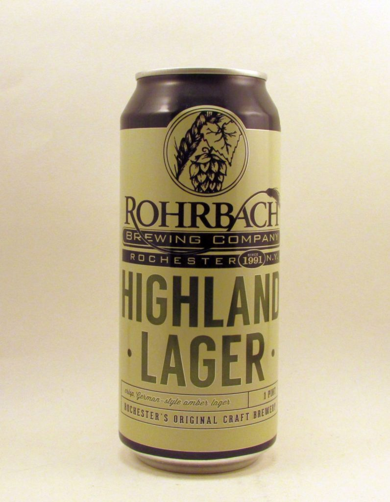 Rohrbach's Highland Lager